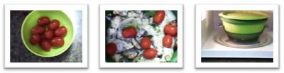 vegetablechickensteaming